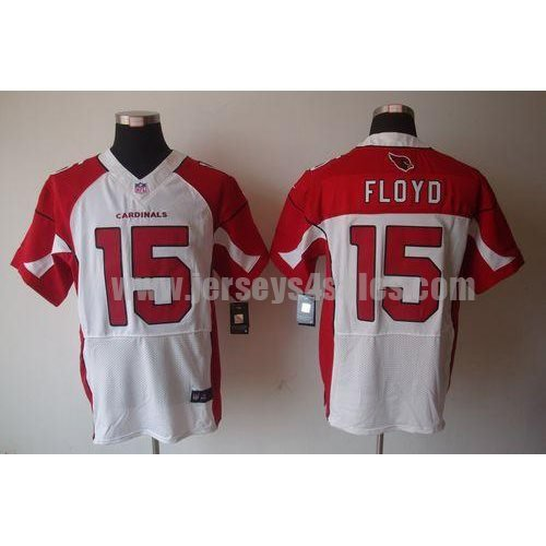 Nike Cardinals #15 Michael Floyd White Men's Stitched NFL Elite Jersey