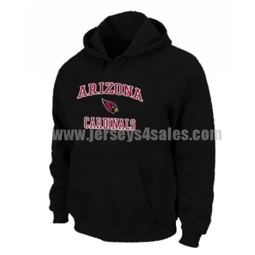 Arizona Cardinals Heart & Soul Pullover Hoodie Black
