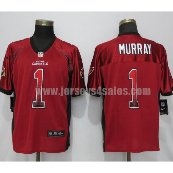 Men's New Nike Arizona Cardinals #1 Kyler Murray Drift Fashion Red Elite Jersey
