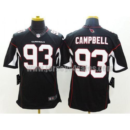 Nike Cardinals #93 Calais Campbell Black Alternate Men's Stitched NFL Limited Jersey