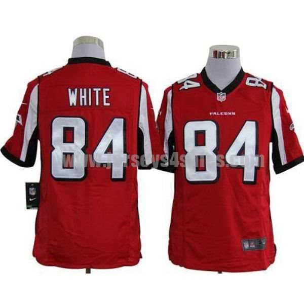 Nike Falcons #84 Roddy White Red Team Color Men's Stitched NFL Game Jersey