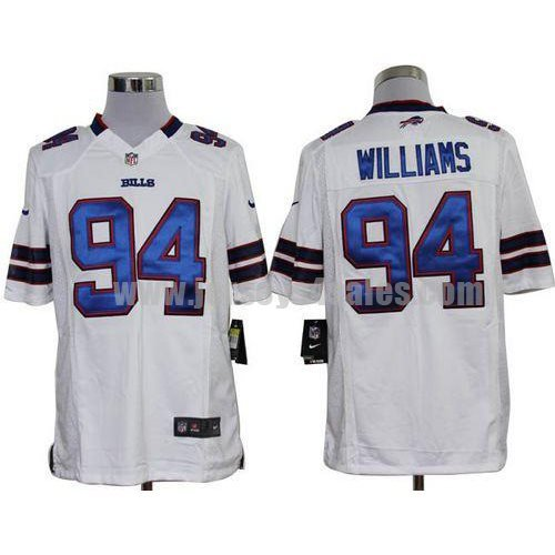 Nike Bills #94 Mario Williams White Men's Stitched NFL Game Jersey