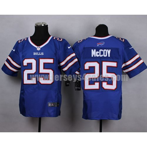 Nike Bills #25 LeSean McCoy Royal Blue Team Color Men's Stitched NFL New Elite Jersey
