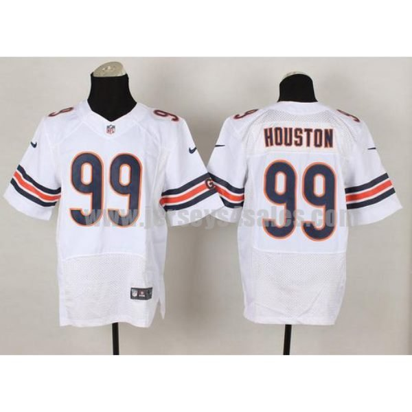 Nike Bears #99 Lamarr Houston White Men's Stitched NFL Elite Jersey