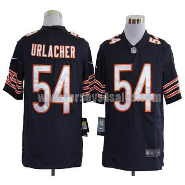 Nike Bears #54 Brian Urlacher Navy Blue Team Color Men's Stitched NFL Game Jersey