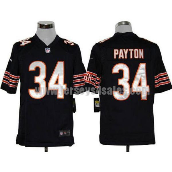 Nike Bears #34 Walter Payton Navy Blue Team Color Men's Stitched NFL Game Jersey