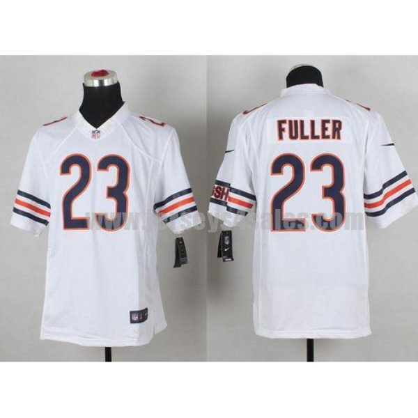 Nike Bears #23 Kyle Fuller White Men's Stitched NFL Limited Jersey
