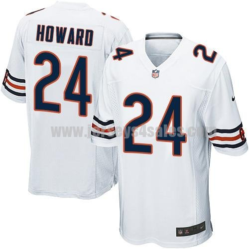 Youth Nike Chicago Bears #24 Jordan Howard White Stitched NFL Elite Jersey