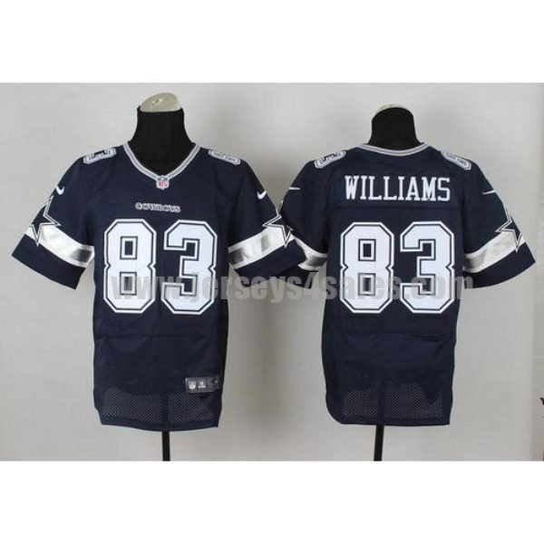 Nike Cowboys #83 Terrance Williams Navy Blue Team Color Men's Stitched NFL Elite Jersey