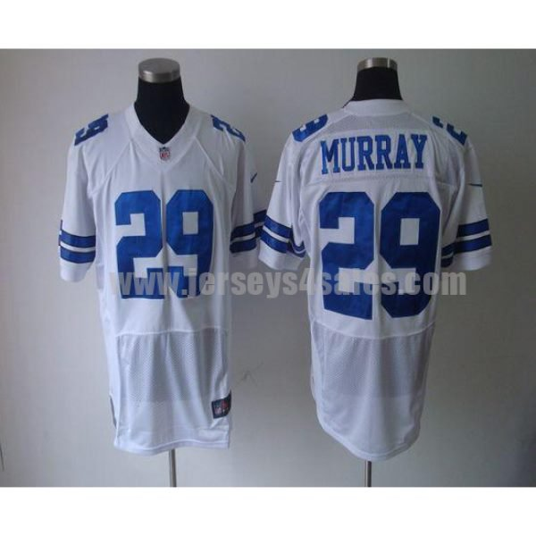 Nike Cowboys #29 DeMarco Murray White Men's Stitched NFL Elite Jersey