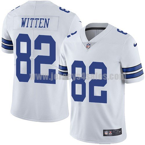 Men's Dallas Cowboys #82 Jason Witten White Nike NFL Vapor Untouchable Limited Jersey