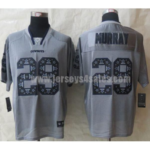 Nike Cowboys #29 DeMarco Murray New Lights Out Grey Men's Stitched NFL Elite Jersey