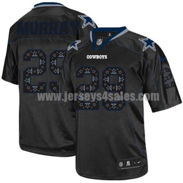 Nike Cowboys #29 DeMarco Murray New Lights Out Black Men's Stitched NFL Elite Jersey