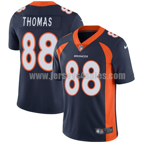 Men's Denver Broncos #88 Demaryius Thomas Navy Blue Nike NFL Vapor Untouchable Limited Jersey