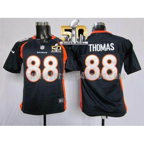 Youth Denver Broncos #88 Demaryius Thomas Navy Blue Stitched Super Bowl 50 Nike NFL Alternate Elite Jersey