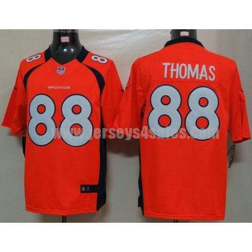 Nike Broncos #88 Demaryius Thomas Orange Team Color Men's Stitched NFL Limited Jersey