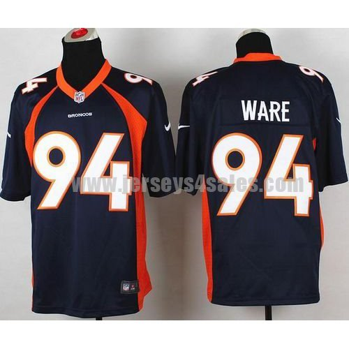 Nike Broncos #94 DeMarcus Ware Navy Blue Alternate Men's Stitched NFL New Game Jersey