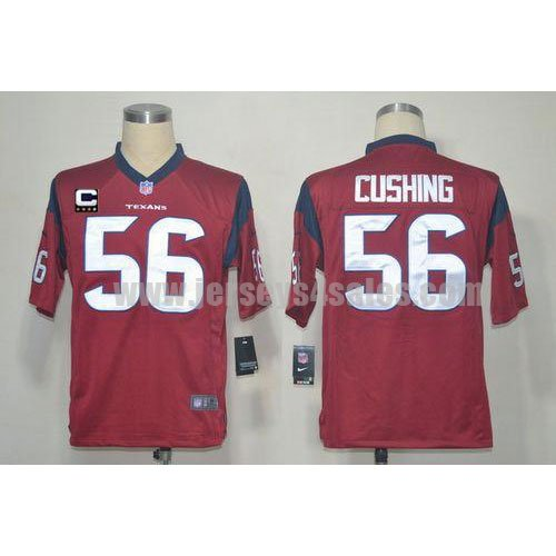 Nike Texans #56 Brian Cushing Red Alternate With C Patch Men's Stitched NFL Game Jersey