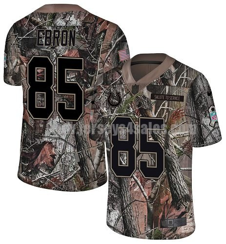 Nike Indianapolis Colts #85 Eric Ebron Camo Men's Stitched NFL Limited Rush Realtree Jersey