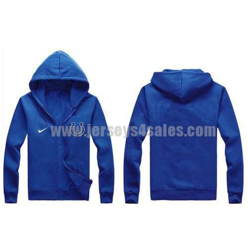 Nike Indianapolis Colts Authentic Logo Hoodie Blue