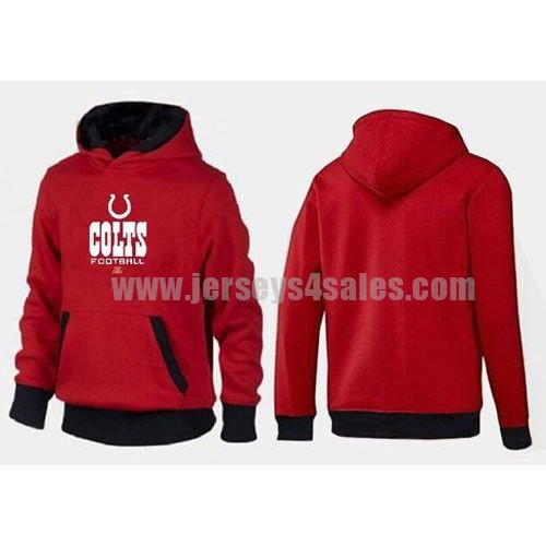 Indianapolis Colts Critical Victory Pullover Hoodie Red & Black
