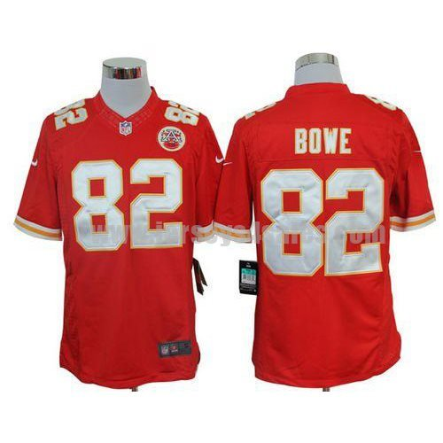 Nike Chiefs #82 Dwayne Bowe Red Team Color Men's Stitched NFL Limited Jersey