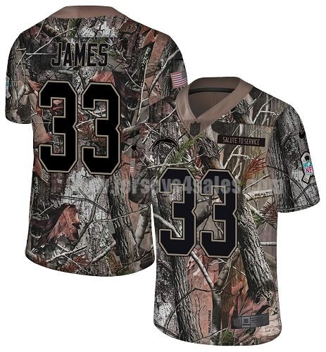 Nike Los Angeles Chargers #33 Derwin James Camo Youth Stitched NFL Limited Rush Realtree Jersey