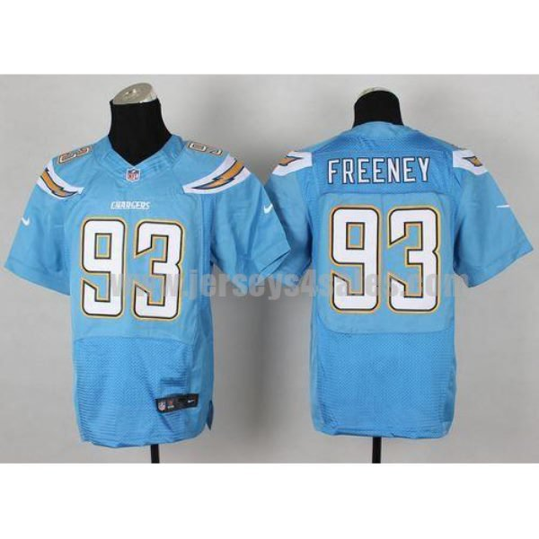 Nike Chargers #93 Dwight Freeney Electric Blue Alternate Men's Stitched NFL New Elite Jersey