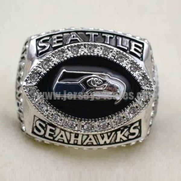 NFL Seattle Seahawks World Champions Silver Ring