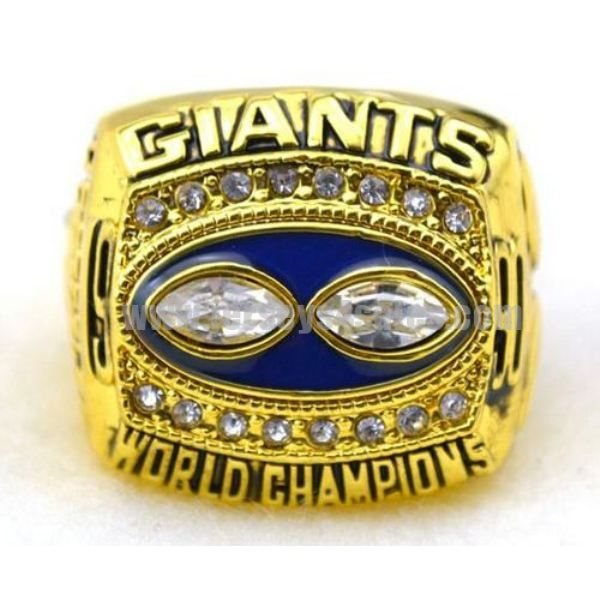 NFL New York Giants World Champions Gold Ring_3