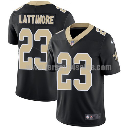 Nike New Orleans Saints #23 Marshon Lattimore Black Team Color Youth Stitched NFL Vapor Untouchable Limited Jersey
