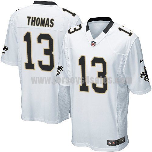 Nike New Orleans Saints #13 Michael Thomas White Youth Stitched NFL Elite Jersey