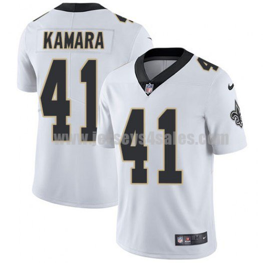 Youth New Orleans Saints #41 Alvin Kamara White Nike NFL Vapor Untouchable Limited Jersey