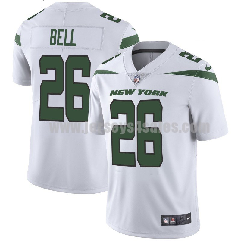Youth New York Jets #26 Le'Veon Bell Nike White Player Limited Jersey