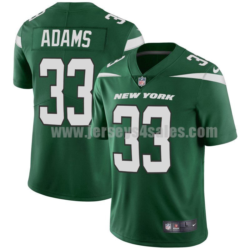 Youth New York Jets #33 Jamal Adams Nike Green Player Limited Jersey