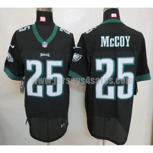 Nike Eagles #25 LeSean McCoy Black Alternate Men's Stitched NFL Elite Jersey
