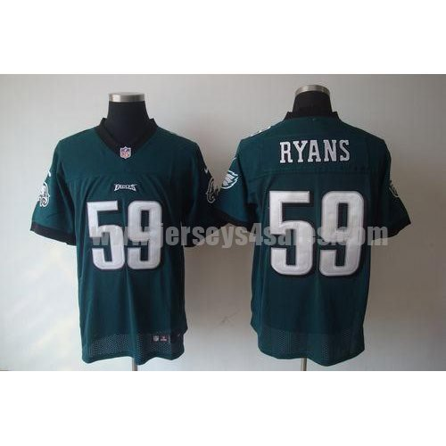 Nike Eagles #59 DeMeco Ryans Midnight Green Team Color Men's Stitched NFL Elite Jersey