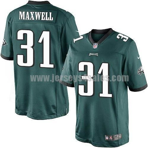 Nike Eagles #31 Byron Maxwell Midnight Green Team Color Men's Stitched NFL New Limited Jersey