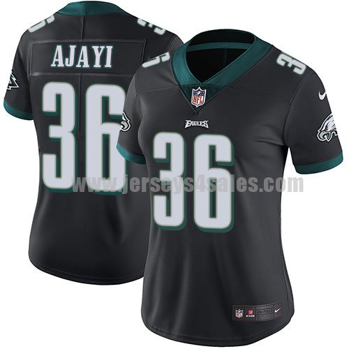 Women's Philadelphia Eagles #36 Jay Ajayi White Nike NFL Vapor Untouchable Limited Jersey