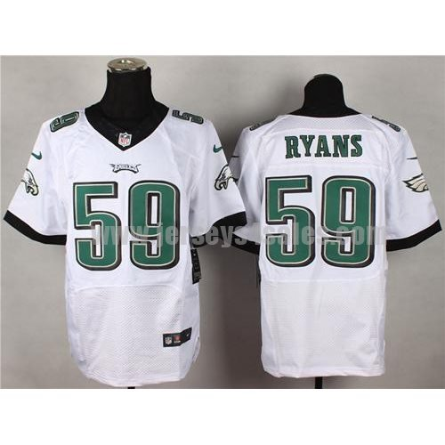 Nike Eagles #59 DeMeco Ryans White Men's Stitched NFL New Elite Jersey