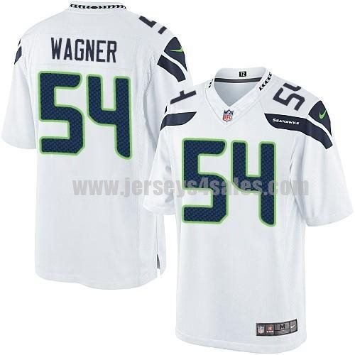 Nike Seahawks #54 Bobby Wagner White Men's Stitched NFL Limited Jersey