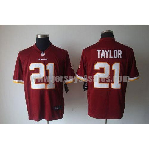 Nike Redskins #21 Sean Taylor Burgundy Red Team Color Men's Stitched NFL Game Jersey