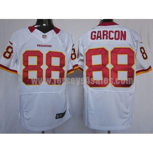 Nike Redskins #88 Pierre Garcon White Men's Stitched NFL Elite Jersey