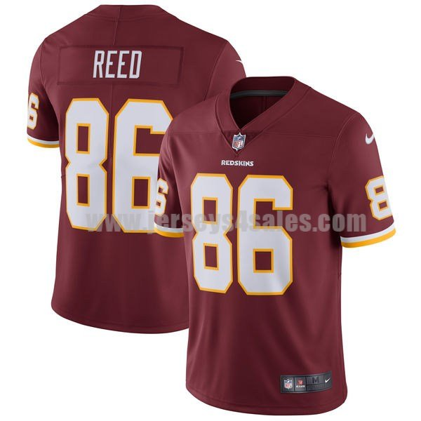 Men's Washington Redskins #86 Jordan Reed Red Nike NFL Vapor Untouchable Limited Jersey